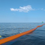 The Ocean Cleanup booms