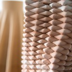 3D Woven printed ceramics close-up