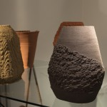 Adaptive Manufacturing 3D printed ceramic vessels